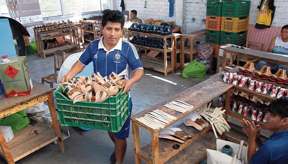 Produce busca dar impulso a la reactivación del rubro de cuero y calzado nacional. (Foto: GEC)