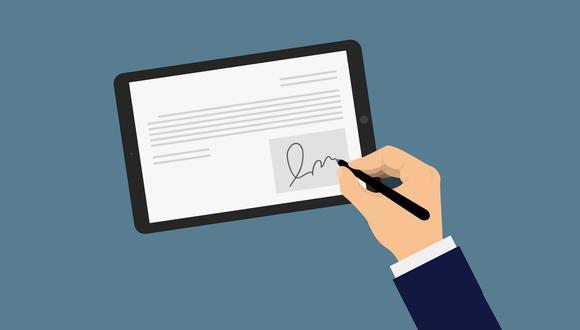 Beneficios de las firmas digitales. (Foto: iStock)