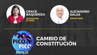 Grace Baquerizo de Juntos por el Perú VS Alejandro Salas de Somos Perú