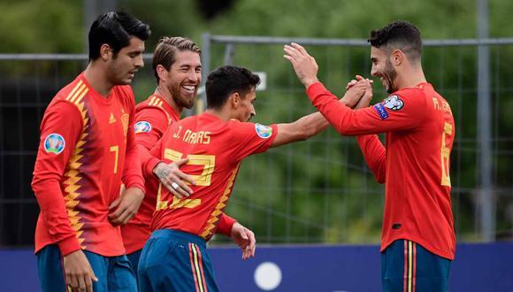 España vs. Suecia se enfrentarán en las Eliminatorias a la Eurocopa 2020. (Foto: AFP)