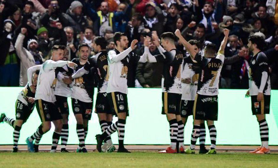 Unionistas perdió 3-1 ante Real Madrid y fue eliminado de la Copa del Rey. (Foto: AFP)