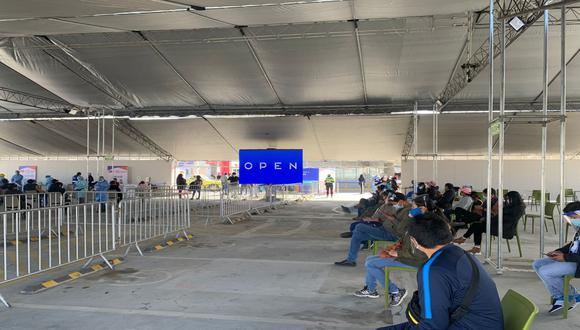 Junín: Inauguran centro de vacunación en el tercer piso del Centro Comercial Open Plaza de Huancayo e inmunizarán a mayores de 40.