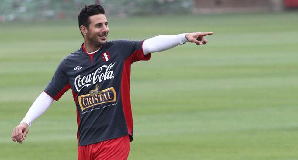 Claudio Pizarro saludó la designación de Pablo Bengochea como técnico de la selección peruana. (Perú21)