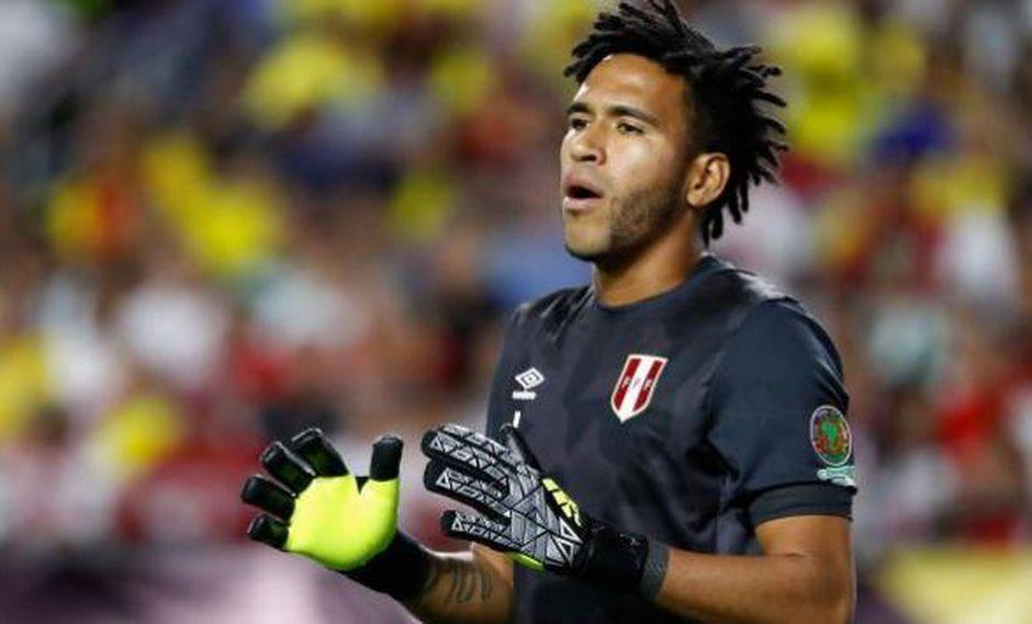Gallese en el corazón de todos los peruanos. (AFP)