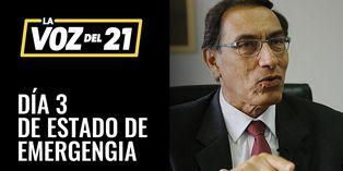 Día 3 de Estado de Emergencia: Presidente Vizcarra declara INMOVILIZACIÓN OBLIGATORIA