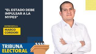 Marco Cordori candidato al Congreso por el Partido Nacionalista