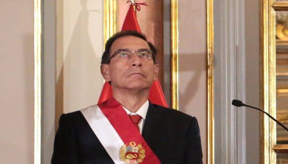 Martín Vizcarra afronta diversas investigaciones fiscales y un proceso en el Congreso que lo puede llevar a su inhabilitación. (Foto: GEC)