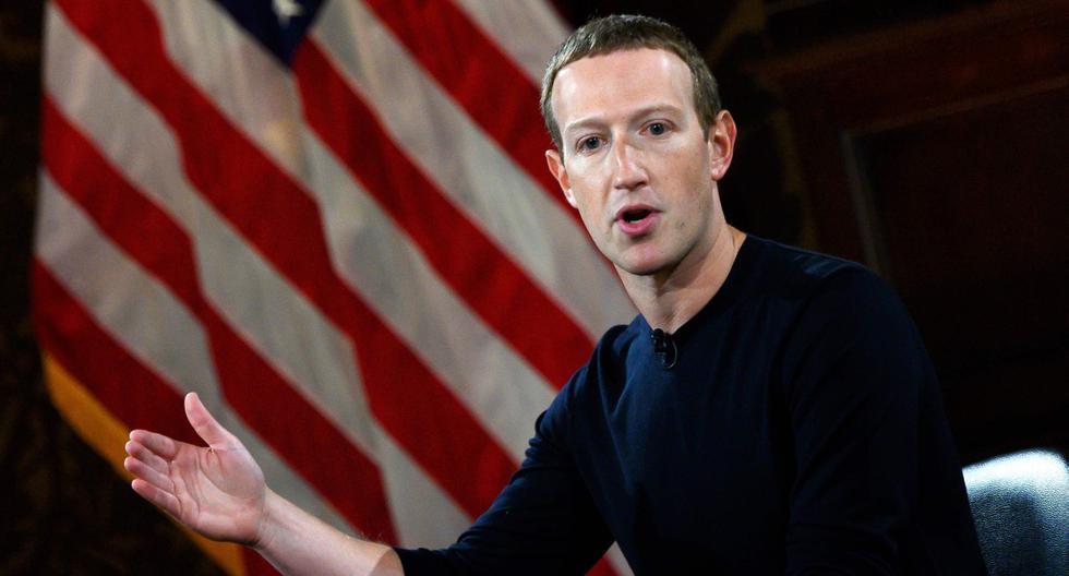 El fundador de Facebook, Mark Zuckerberg, habla en la Universidad de Georgetown el pasado 17 de octubre de 2019. (AFP / ANDREW CABALLERO-REYNOLDS)
