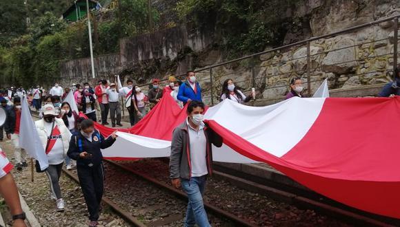 Cusco: Población suspenden reinicio de huelga en Machu Picchu programada para este 12 de enero en protesta al alto costo de los pasajes en tren para los turistas nacionales.