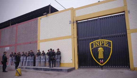 Fachada del Penal de Lurigancho. Internos podrán reunirse con sus abogados defensores. (Foto archivo: INPE)
