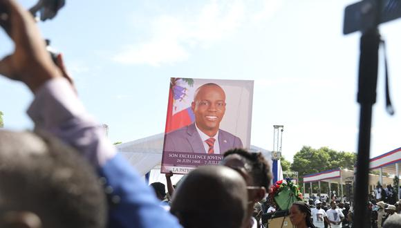 Jovenel Moise, de 53 años, fue asesinado a tiros en su casa en la madrugada del 7 de julio. (Foto: Valerie Baeriswyl / AFP)