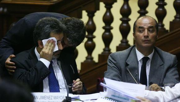 El ministro de Justicia y el jefe del INPE achacaron gollerías de Antauro Humala a problemas de corrupción. (David Vexelman)