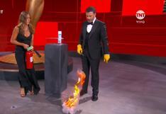 "Emmy 2020: Jennifer Aniston tuvo que apagar fuego por ""imprudencia"" del animador Jimmy Kimmel"