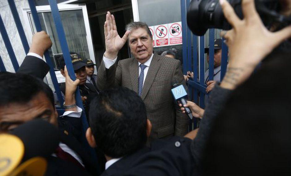 Alan García cumple 10 días en la residencia del embajador. (USI)