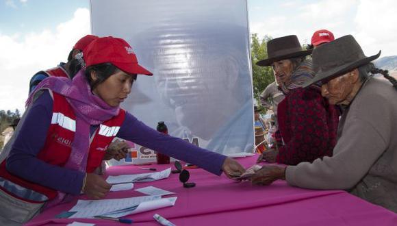Pensión 65 atiende a los ancianos más pobres del Perú. (Perú21)
