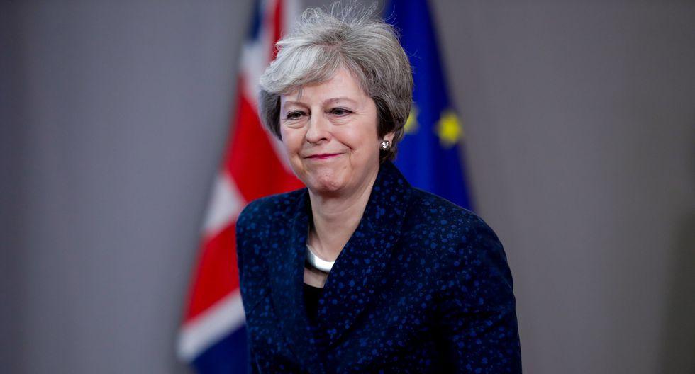 """May aclaró que, en cualquier caso, se trataría de un retraso """"corto y limitado"""" del Brexit. (Foto: EFE)"""