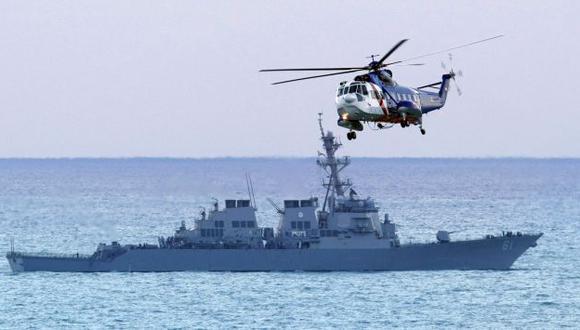 ALERTA MÁXIMA. Destructores estadounidenses están listos para lanzar misiles crucero contra Siria. (AP)