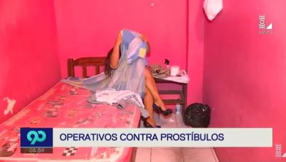 Cercado de Lima y SJM: Realizan operativos contra prostíbulos clandestinos. (Captura)