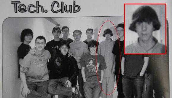 Adam Lanza en su época escolar. (AP)