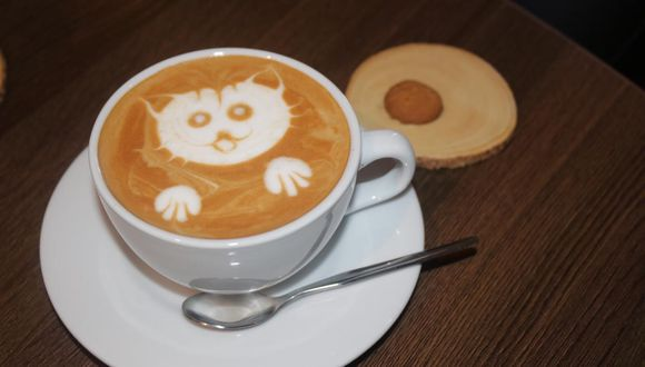 Un Capuccino con café de Alto Amazonas en Coffeecito Company (Foto: Esther Vargas)