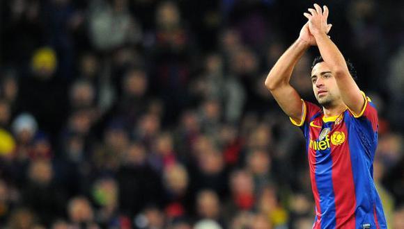 Xavi Hernández dejaría el Barcelona luego de 17 años en el club. (AFP)