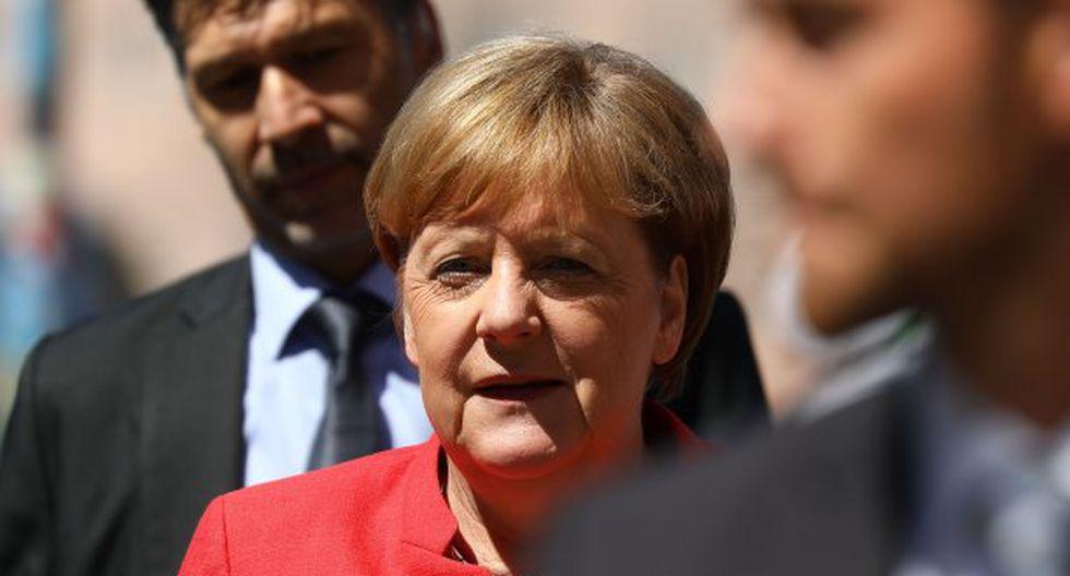 """""""Le felicito cordialmente por su elección como presidente de los Estados Unidos Mexicanos"""", señala Merkel en su mensaje a López Obrador. (Foto: AFP)"""