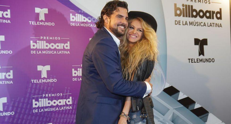 Paulina Rubio y Gerardo Bazúa se conocieron en 2012 en un reality de talentos. (Foto: EFE)