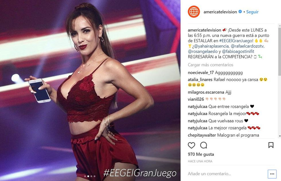 ¿Rosángela Espinoza en 'EEG'?