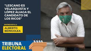 Alberto Beingolea candidato presidencial por el PPC