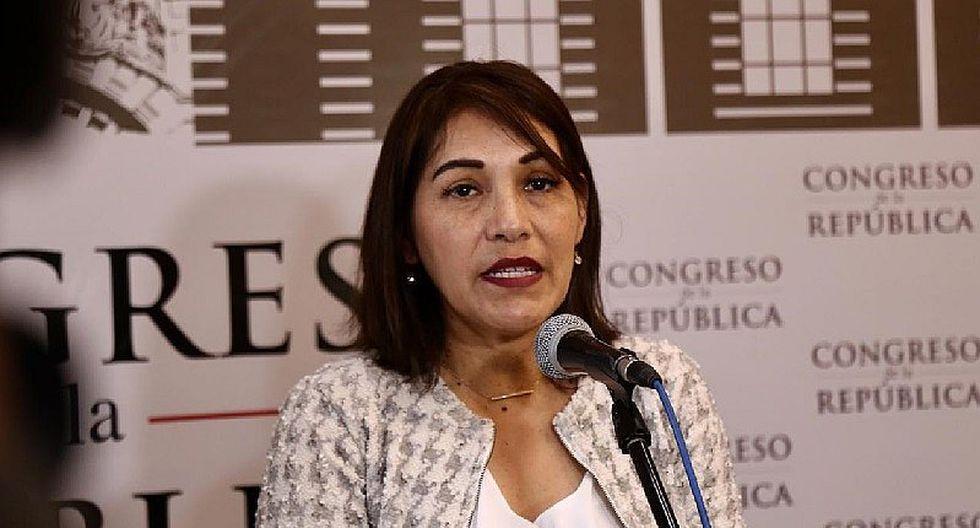 Milagros Salazar se pronunció sobre exfuncionarios del Gobierno Regional de Moquegua investigados por la Contraloría que ahora trabajan en el MTC. (Foto: GEC)