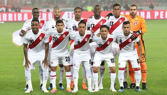 Selección Peruana y su ubicación en el ránking de la FIFA a poco del debut en la Copa América. (Foto: Rolly Reyna/GEC)
