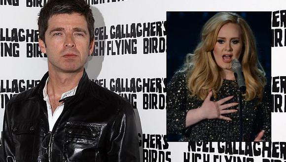 """Adele: Noel Gallagher calificó como """"música para abuelas"""" el álbum de la cantante. (USI)"""