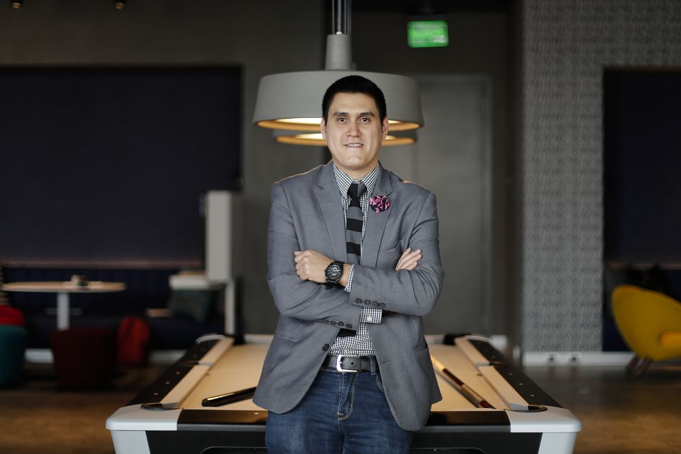 Luis Vidal,  jefe de Food and Beverages. (Renzo Salazar/ GEC)