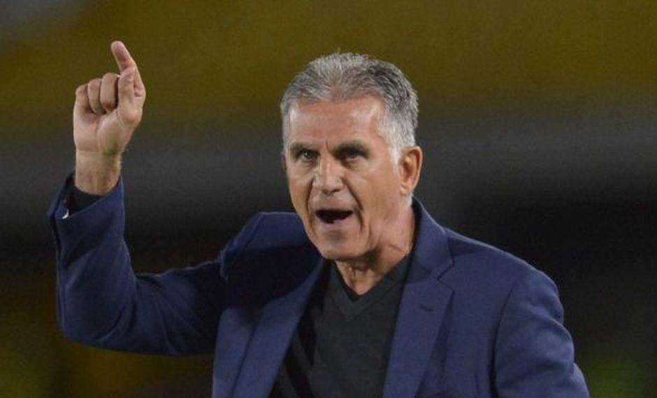 Colombia se impuso 3-0 a Perú este domingo en el Estadio Monumental. (Foto: AFP)