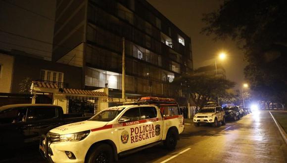 Lamentable episodio en Miraflores. (Foto: César Bueno /GEC)