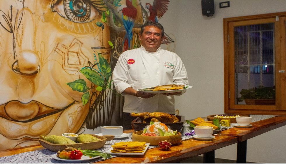 La gallina asada y el pescado a la parrilla son los protagonistas en una cena de Nochebuena típica de la selva y preparada por Fernando Arévalo. (Foto: Zandra Carbajal)