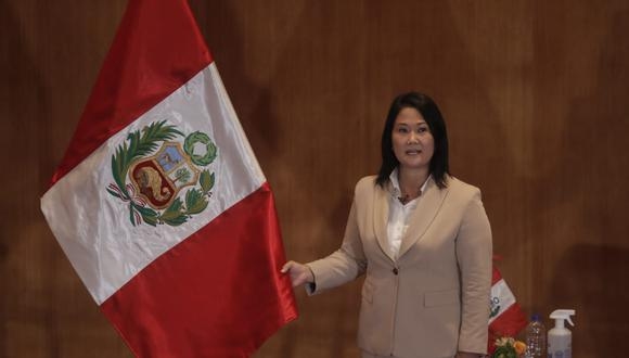 Poder Judicial denegó el permiso de viaje a Ecuador a Keiko Fujimori. (Foto: GEC)