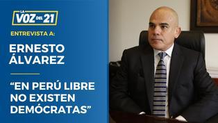 "Ernesto Álvarez: ""En Perú Libre no existen demócratas"""