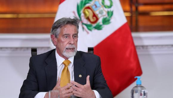 No prosperó en el Congreso la moción de censura contra Francisco Sagasti, encargado de la Presidencia de la República. (Foto: Presidencia)