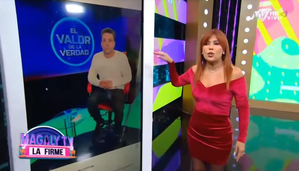 """Magaly Medina criticó que Latina quiera """"lavarle la cara"""" a Nicola Porcella: """"Me parece despreciable"""". (Foto: Captura de video)"""