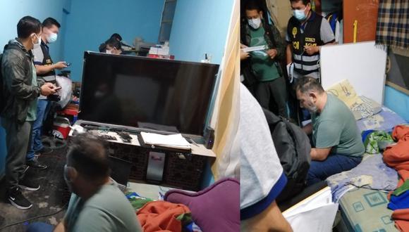 Piura: El profesor de primaria Fabricio Antonio Martín Monjarás Ruiz de Somocurcio, fue intervenido acusado de fotografiar desnudo a sus alumnos. (Fotos Ministerio Público)