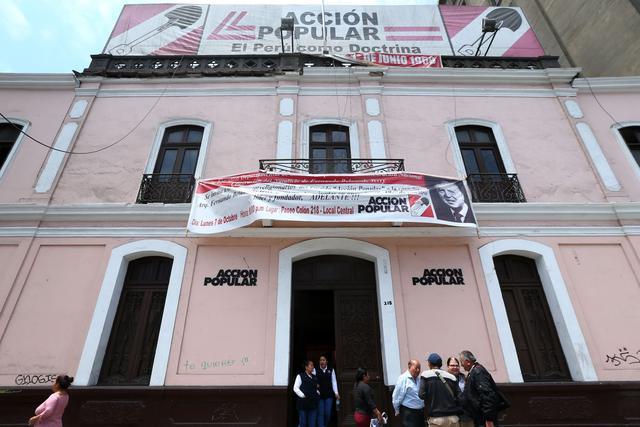 Internas de Acción Popular definirán a los candidatos presidenciales (GEC).