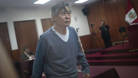 Alberto Fujimori regresó a la Diroes tras crisis hipertensiva. (César Fajardo)