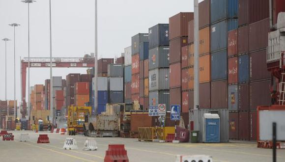 TERMINAL. Puerto moverá este año 1.4 millones de contenedores. (Rafael Cornejo)
