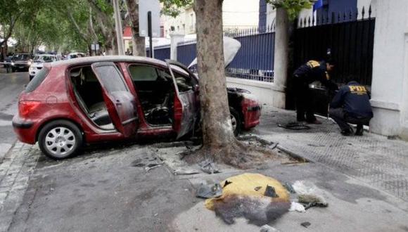 Tres heridos dejó ataque terrorista a cuartel de la Policía. (Agencia Uno-chile )