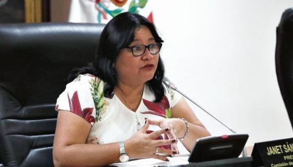 Sánchez lamentó que se haya decidido darle un espacio televisivo a Vilcatoma sin informarle a todos los parlamentarios. (Foto: GEC)