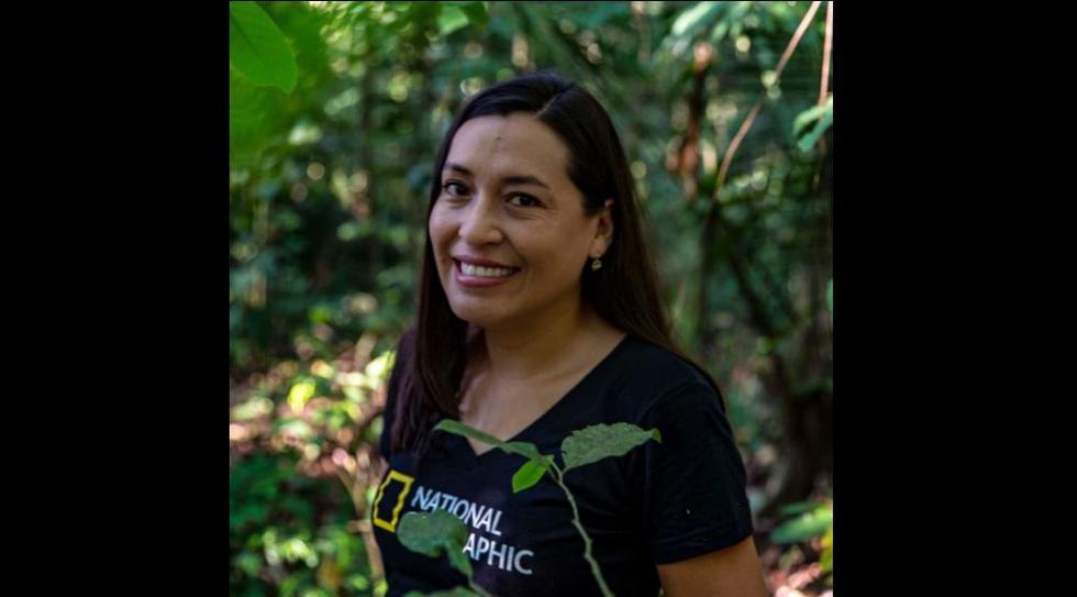 Cármen Chávez, la tenaz defensora de la amazonia peruana cuyas armas son el conocimiento. (Facebook)