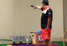 Marko Carrillo se despidió de Tokio 2020 culminando en el puesto 18 en modalidad de 25 metros pistola