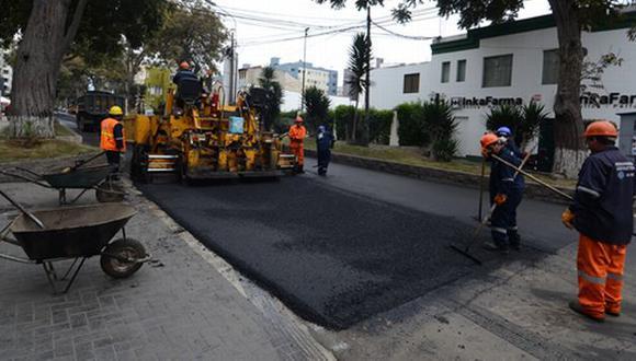 Se realizarán obras en la avenida 28 de julio durante dos días. Se recomienda tomar vías alternas. (Difusión)