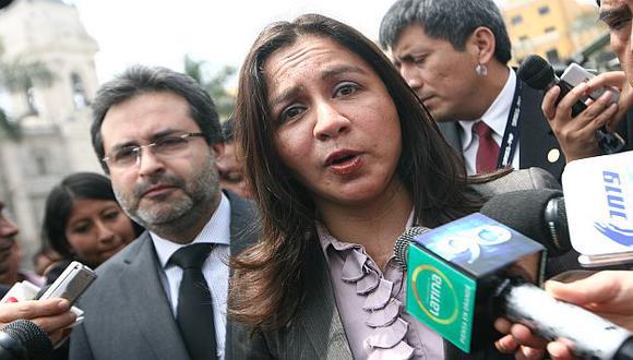 Vicepresidenta Espinoza confirma tratativas.  (Mario  Zapata)